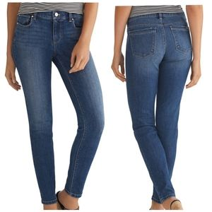WHBM Saint Honore Skimmer Ankle Jeans - 2